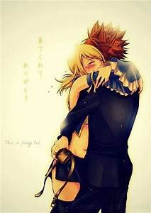NaLu hug | Fairy Tail | Pinterest