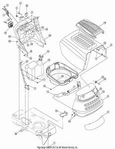 Mtd 13bx605g755  2007  Parts Diagram For Hood Series 600