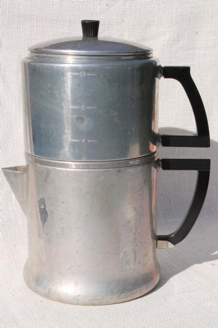 Free shipping on orders of $35+ from target. vintage WearEver aluminum stovetop dripolator coffeepot 12 cup coffee maker