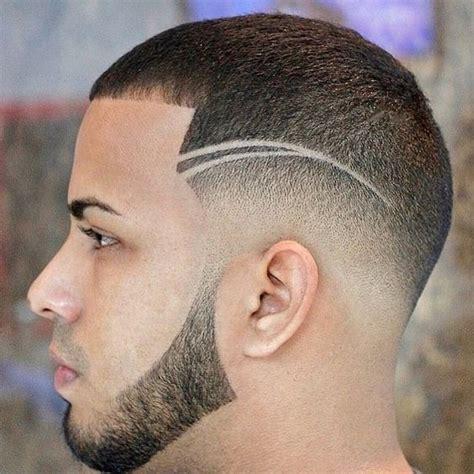 peinados  lineas  rayas  hombres barberos