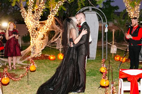 Spooky Scary Halloween Wedding At The