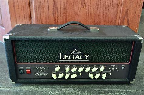 Carvin Steve Vai Legacy Ii Guitar Amplifier Amp Head Black