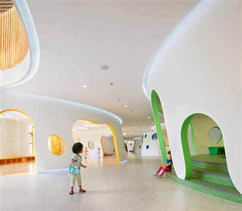 sako architects shapes playful educational center  beijing