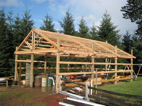building a pole barn how to build a pole barn shed haddi