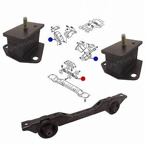 For Mitsubishi Pajero Front Rear Engine Gearbox Support