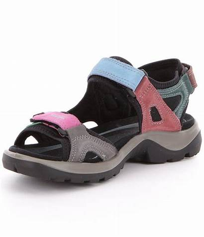 Ecco Sandals Multi Womens Outdoor Colored Yucatan