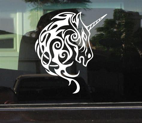 tribal unicorn vinyl decalsticker ebay