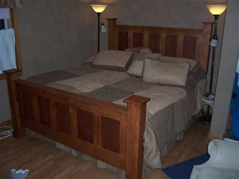 white king headboard and footboard king size headboard and footboard by pesek lumberjocks
