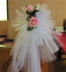 Tulle Pew Bow Easy Tutorial With Photos Bows