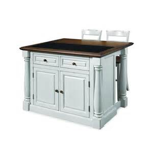 monarch kitchen island home styles monarch white kitchen island with seating shop your way shopping earn
