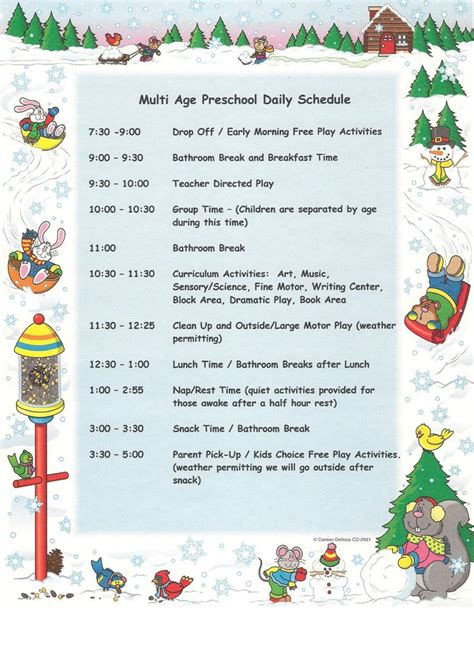 pin by picco on my daycare daily schedule 552 | cc956109178d60df25682ddcf0f55bb3 preschool daily schedules preschool classroom