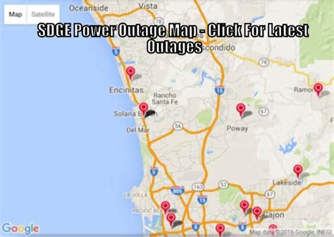 Sdge Electrical, Gas Power Outage Map & Android / Ios