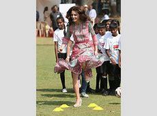 Prince William and Kate Middleton meet Mumbai's 'slumdog