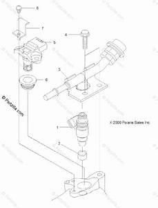 Polaris Atv 2014 Oem Parts Diagram For Engine  Fuel