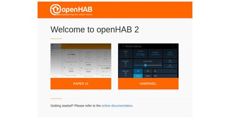 automation with openhab2