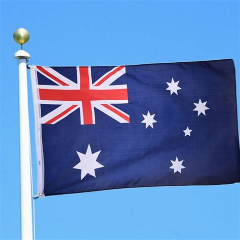 high quality polyester australia flag country national