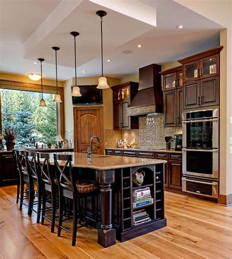 high end kitchen islands high end tuscan kitchen islands two high end kitchens both entrants in this year s georgie