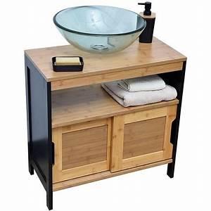 Meuble Sous Vasque Bambou : meuble sous vasque comment choisir guide complet ~ Dode.kayakingforconservation.com Idées de Décoration