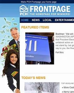PCHFrontpage - The Homepage for Winners! pchfrontpage.com ...