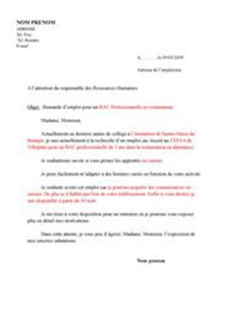 modèle cv soigneur animalier lettre de motivation zoo employment application