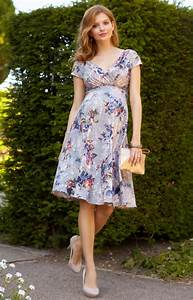 Alessandra maternity dress short vintage bloom maternity for Cute short dresses to wear to a wedding