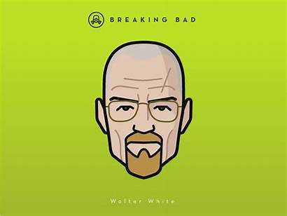 Breaking Bad Walter Faces Vol