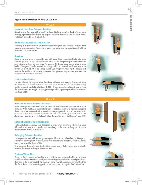 home exercises  tips   patients