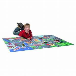 Tapis De Voiture Enfant : tapis de jeu circuit de voiture playmat avec voiture avenue des jeux ~ Teatrodelosmanantiales.com Idées de Décoration