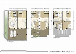 three story floor plans ahscgscom With house interior design ground floor