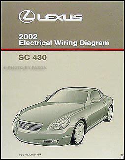 free online auto service manuals 2000 lexus sc electronic toll collection 2002 lexus sc 430 wiring diagram manual original electrical schematic oem sc430 ebay