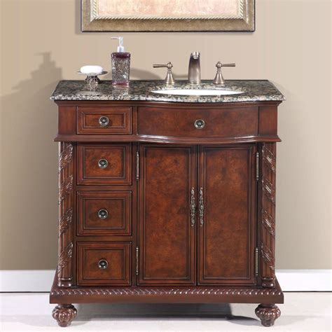 36 vanity with sink shop silkroad exclusive victoria undermount single sink