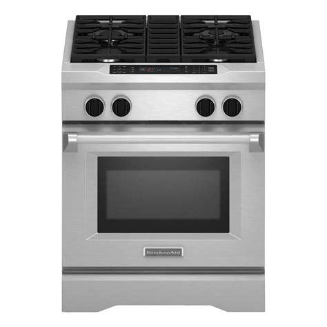 kitchenaid range kitchenaid commercial style ii 4 1 cu ft slide in dual