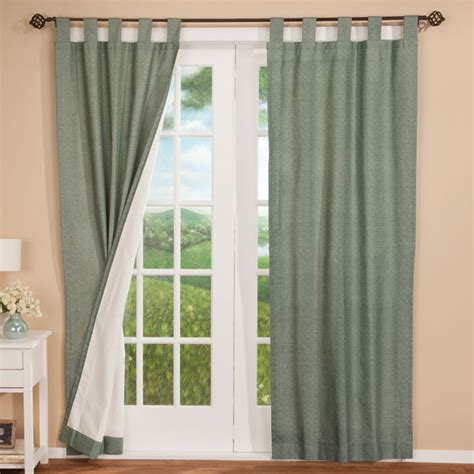 energy saving tab top curtains energy saving curtains