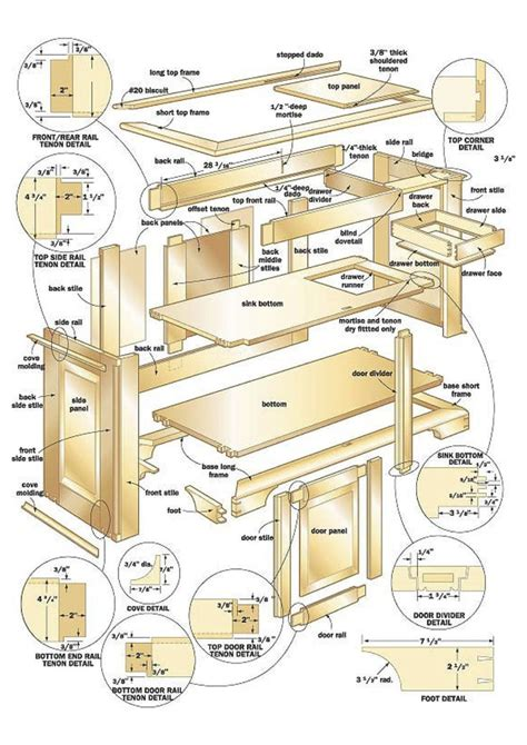 bird table plans   woodworking projects plans