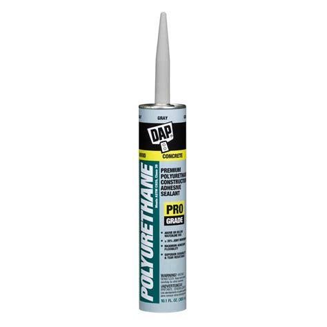 gray caulk dap polyurethane 10 1 oz gray premium construction adhesive sealant 12 pack 7079818814 the