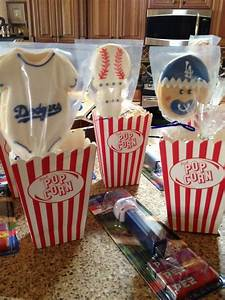 Baseball Baby Shower Favors Cookie Connection