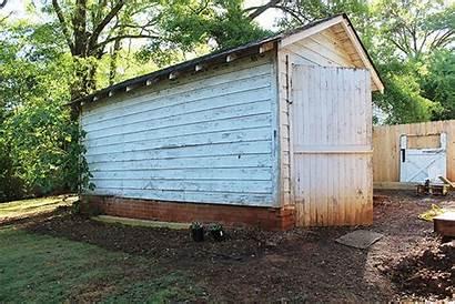 Shed Backyard Porch Screened Boho Before Pretty