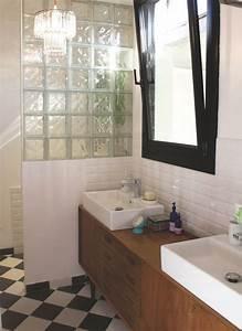Diy Meuble Salle De Bain : id e d coration salle de bain diy salle de bains 3 meubles r aliser soi m me ~ Mglfilm.com Idées de Décoration