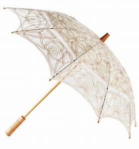 Lace Parasol Cream Parasol Wedding Umbrella Bridal