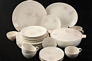 Mid Century Modern Dinnerware Atomic Pattern Dinnerware Set Masculine Modern Dinnerware Sets