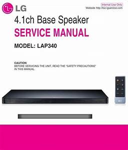 Lg Lap340 Soundplate Service Manual And Repair Guide