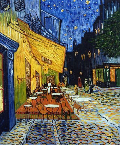 cafe terrace at 10 lukisan paling terkenal di dunia yang sangat fenomenal