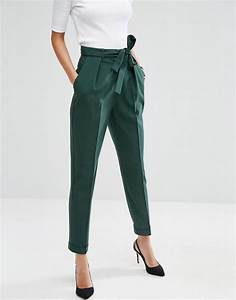 Woven Peg Pants with OBI Tie | Peg trousers Clothes and Work outfits