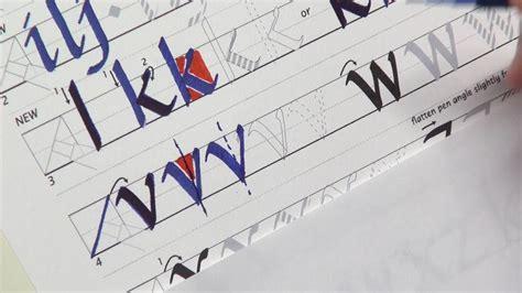 Getty-dubay Italic Calligraphy