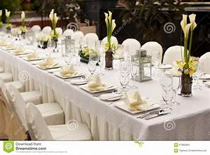 Formal Table Setting Outdoor Garden Style Table