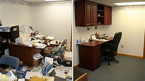 Cluttered, Office, Gets, A, Makeover