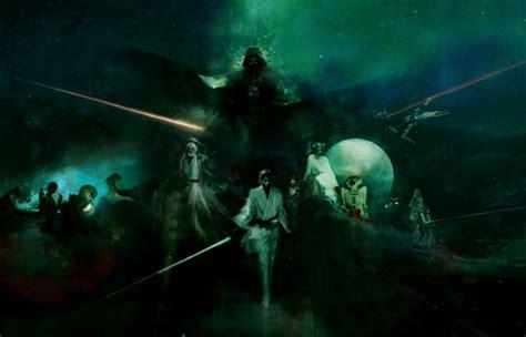 beautifully dark star wars fan art  studio ronin