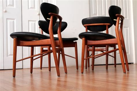 finn juhl 108 dining chairs an orange moon uber hip