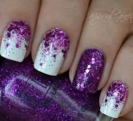 Glitter nail art designs and design