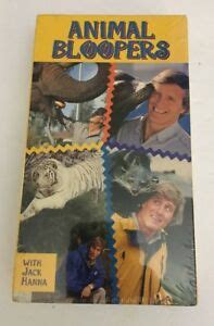 Animal Bloopers with Jack Hanna-VHS-RARE VINTAGE ...